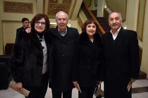 Tere, Lalo, Alma y Jorge