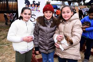 Sofía, Carlota y Sofi