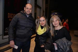 Javier, Sandra y María Estela