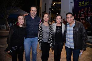 Ruth, Pepe, Karla, Paola y Julio