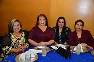 28122017 COMPAñERAS.  Aide, Lupita, Diana y Norma.