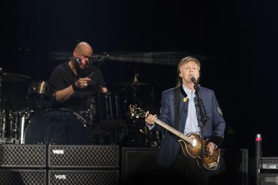 28 de octubre. Paul McCartney   El cantante británico ofreció un memorable concierto en el Estadio Azteca.