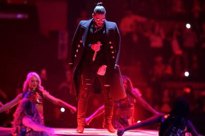 16 de diciembre. Maluma   El cantante colombiano se presentó en la Arena Ciudad de México.