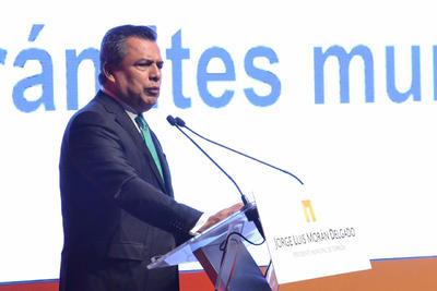 07 de diciembre. Informe | El alcalde de Torreón, Jorge Luis Morán, presentó su cuarto informe de resultados al frente de la administración municipal.