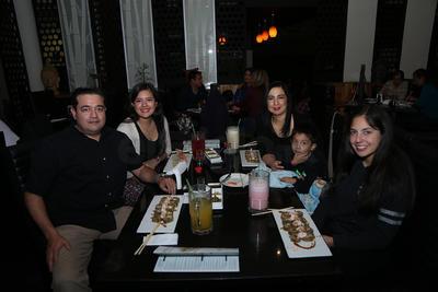 Familia Sánchez Alvarado.