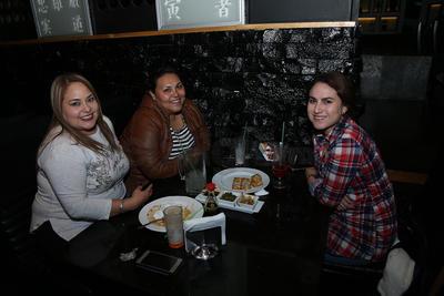 Sarahí, Daniela y María Elena.