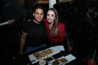 Alexis y Alejandra.