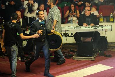 15 de julio. Alejandro Fernández | Se presentó con dos fechas en la Feria Nacional de la ciudad de Gómez Palacio, Durango.