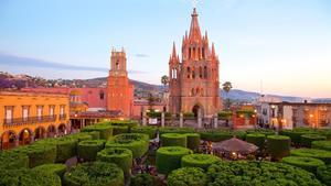 29122017 Parroquia de San Miguel Arcángel en San Miguel de Allende, Guanajuato.