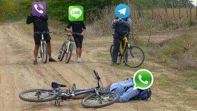 Caída de Whatsapp desata los memes