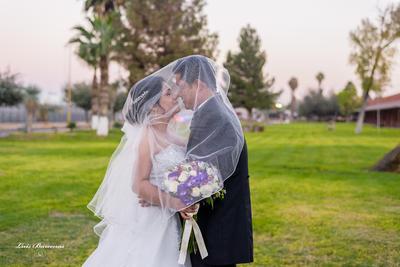 31122017 Se unieron en matrimonio Dra. Yolanda Nohemí García Méndez y C.P. Víctor Luna Padilla el 17 de noviembre de 2017. - Estudio Luis Bárcenas