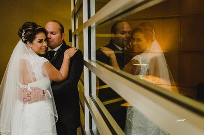 31122017 Erika Guadalupe Meléndez Chavarría y Juan Carlos Sandoval Escobar unieron sus vidas en sagrado matrimonio el 16 de diciembre de 2017 en la Parroquia de San Felipe de Jesús.