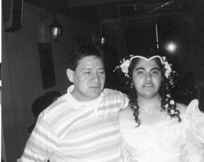 Agustín Martínez (f) y María del Carmen Iturriría el 16 de julio de 1994.