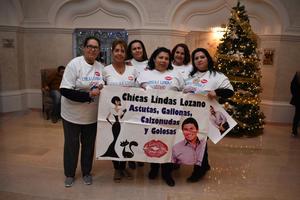 31122017 CHICAS LINDAS LOZANO.  Maripaz, María Eva, Erika, María Elena, Heidi y Verónica.