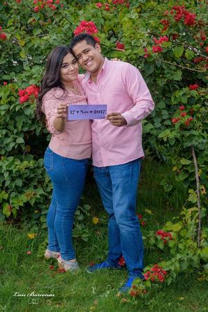 31122017 Dra. Yolanda Nohemí García Méndez y C.P. Víctor Luna Padilla, quienes se casaron el pasado 17 noviembre del presente año. - Estudio Luis Bárcenas