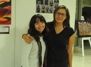 31122017 CONTENTAS.  Monserrat y Daniela.