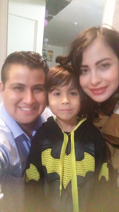 04012018 AÑO NUEVO 2018. Familia Arévalo Romero.