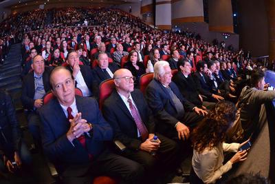 El evento se realizó en el Teatro Nazas.