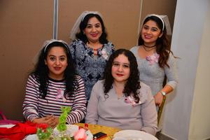 02012018 Ana Luisa, Geraldine, Olga Lilia y Ana.