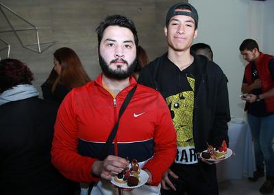 Bryan y Rigo.