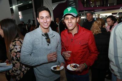 Cristobal y Luis.