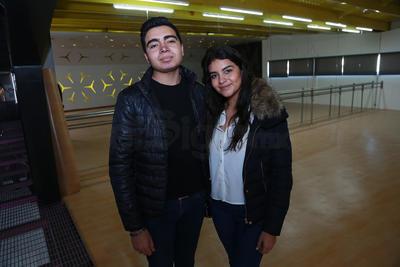 Lizeth y Roberto.