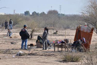 Más de 400 familias han iniciado una invasión de terrenos del Parque Industrial Mieleras.