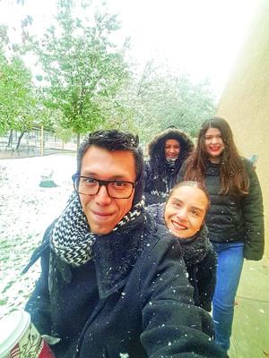 06012018 LA FOTO DEL RECUERDO.  Pineda Damián, Paulina Valenzuela, Nadia Román y María Robles.