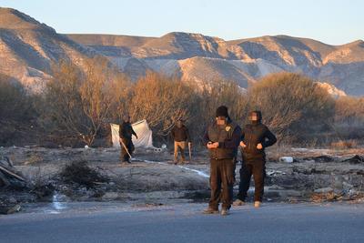 Desalojan terrenos invadidos en Mieleras