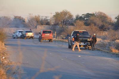 Alrededor de 100 policías de Fuerza Coahuila, Policía Estatal Preventiva y de Investigación Criminal participaron en el operativo.