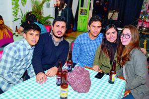 07012018 Octavio, Manuel, Abraham, Paola y Natalia.