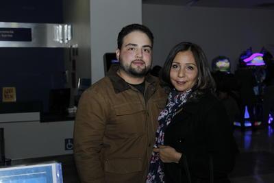 Chuy y Rocío.