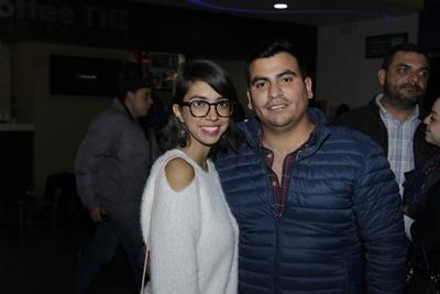 Diana y Manuel.