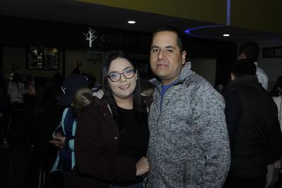 Mariana y Daniel.