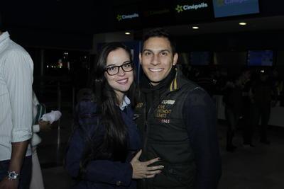 Daniela y Octavio.