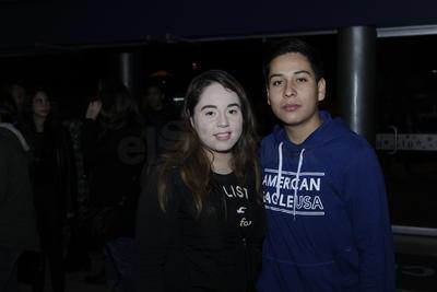 Jackie y Sebastián.