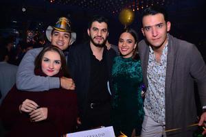 Cristina, Carlos, Martín, Ale y Hugo