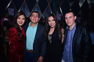 Daniela, Carlos, Fernanda y Paliñha