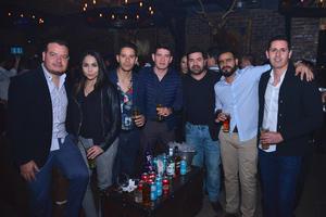 Lalo, Alejandra, Dany, Erick, Mario, Kike y Roger