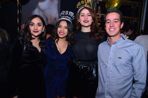 Paulina, Anilú, Brenda e Imanol