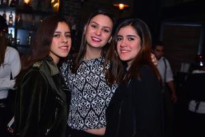 Valeria, Sofía y Daniela