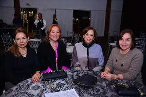 Jenny, Nancy, Olga y Ale