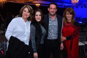 Susana, Patricia, Antonio y Gabriela