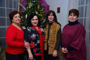 Mónica, Antonieta, Laura y Tere