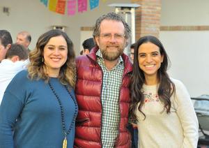 Adriana, Rodrigo y Cecy