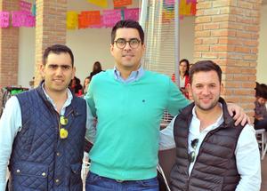 Alberto, Diego y Fernando