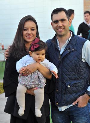Andrea, Paula y Alberto