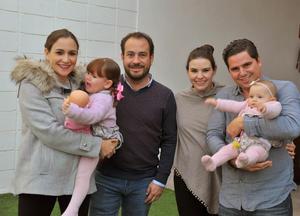 Male, Ana Cristina, Manolo, Toño, Luisa y María