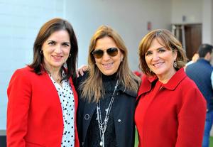 María Luisa, Catalina y Cecilia