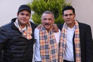 Diego, Enrique y Enrique